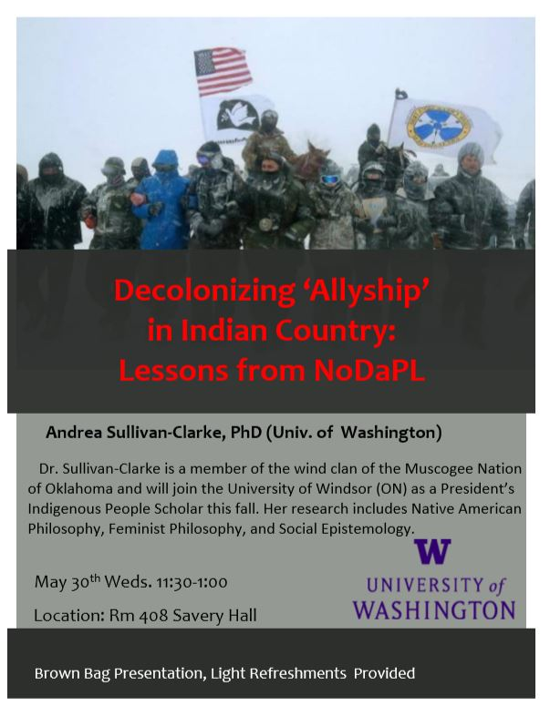 Decolonizing Allyship in Indian Country: Lessons from NoDAPL