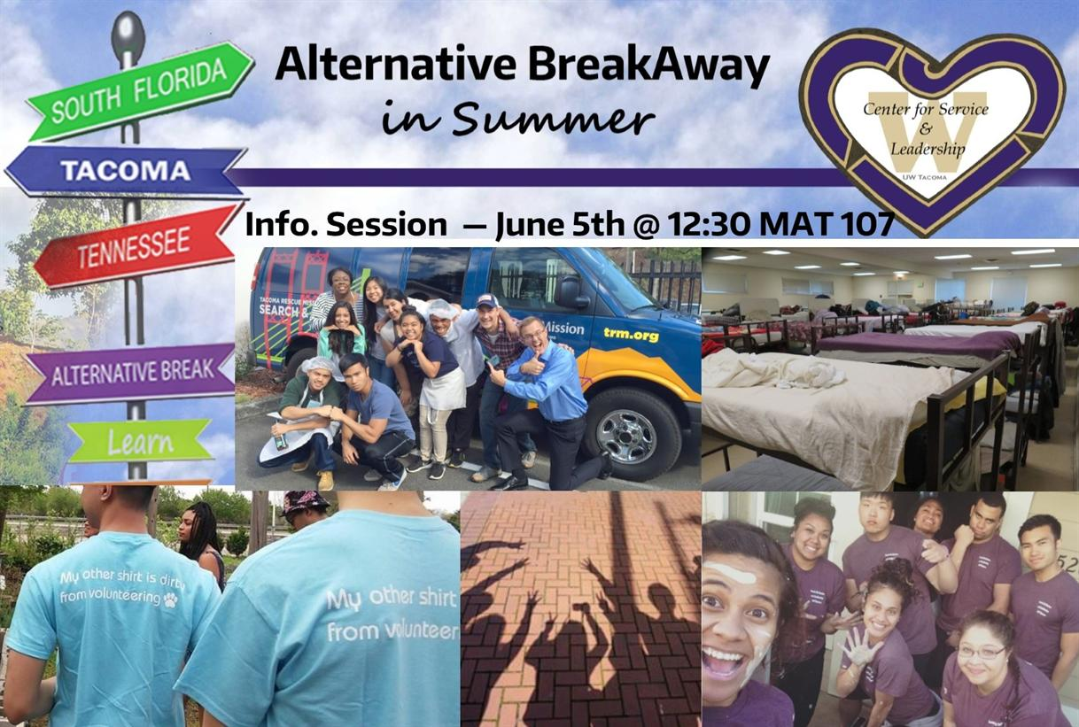 Summer Breakaway- Info Session