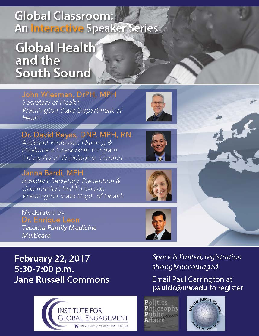 "Global Classroom on ""Global Health and the South Sound"""