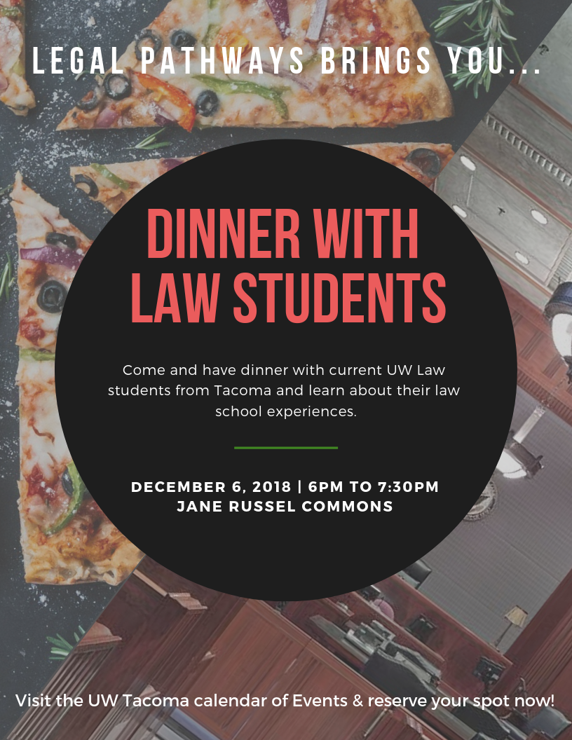 Dinner with UW Law Students