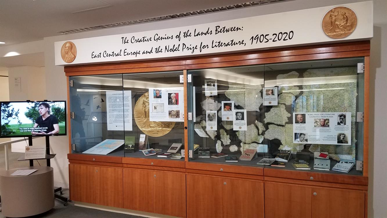 EXHIBIT: The Creative Genius of the Lands Between: East Central Europe and the Nobel Prize for Literature, 1905-2020