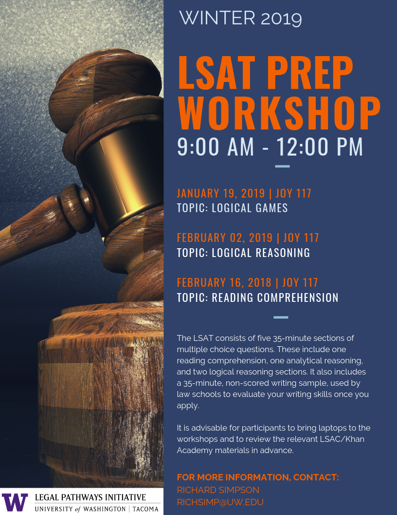 LSAT Prep Workshop - Reading Comprehension