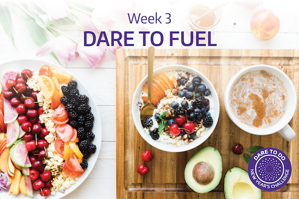 Dare to Fuel for the Day with UWMC Clinical Dietitian Charlotte Furman