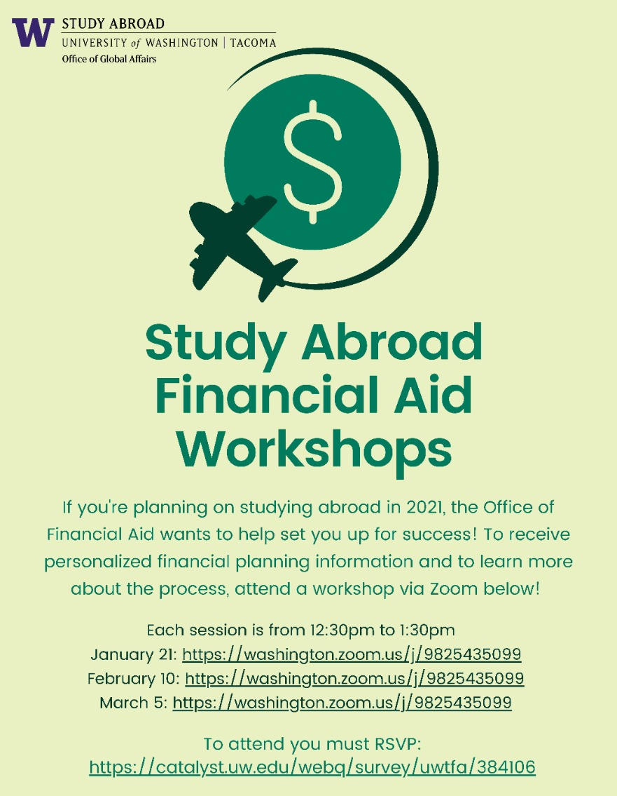 Study Abroad Financial Aid Workshop #1