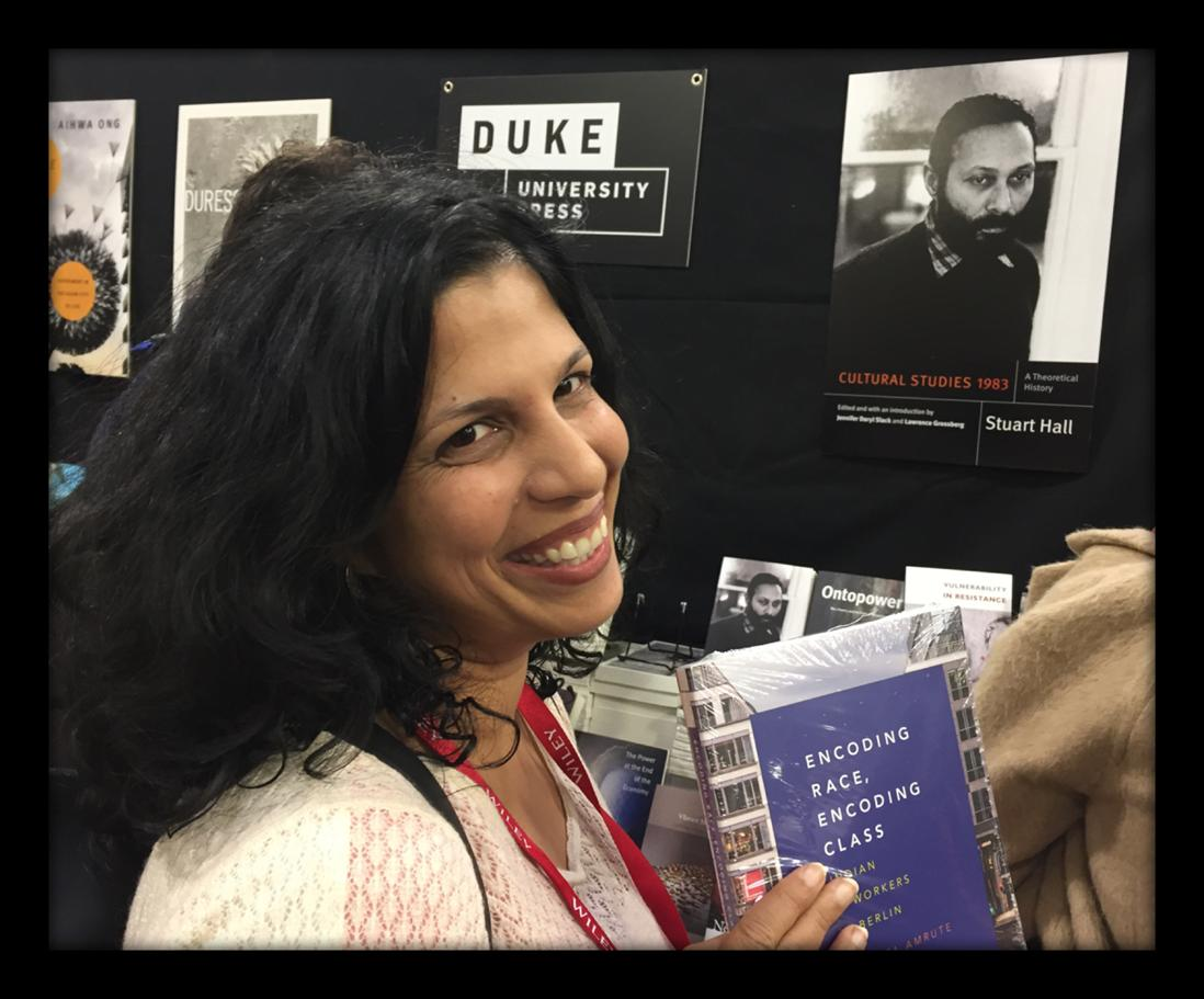 Celebrate Sareeta Amrute's Prize Winning Book