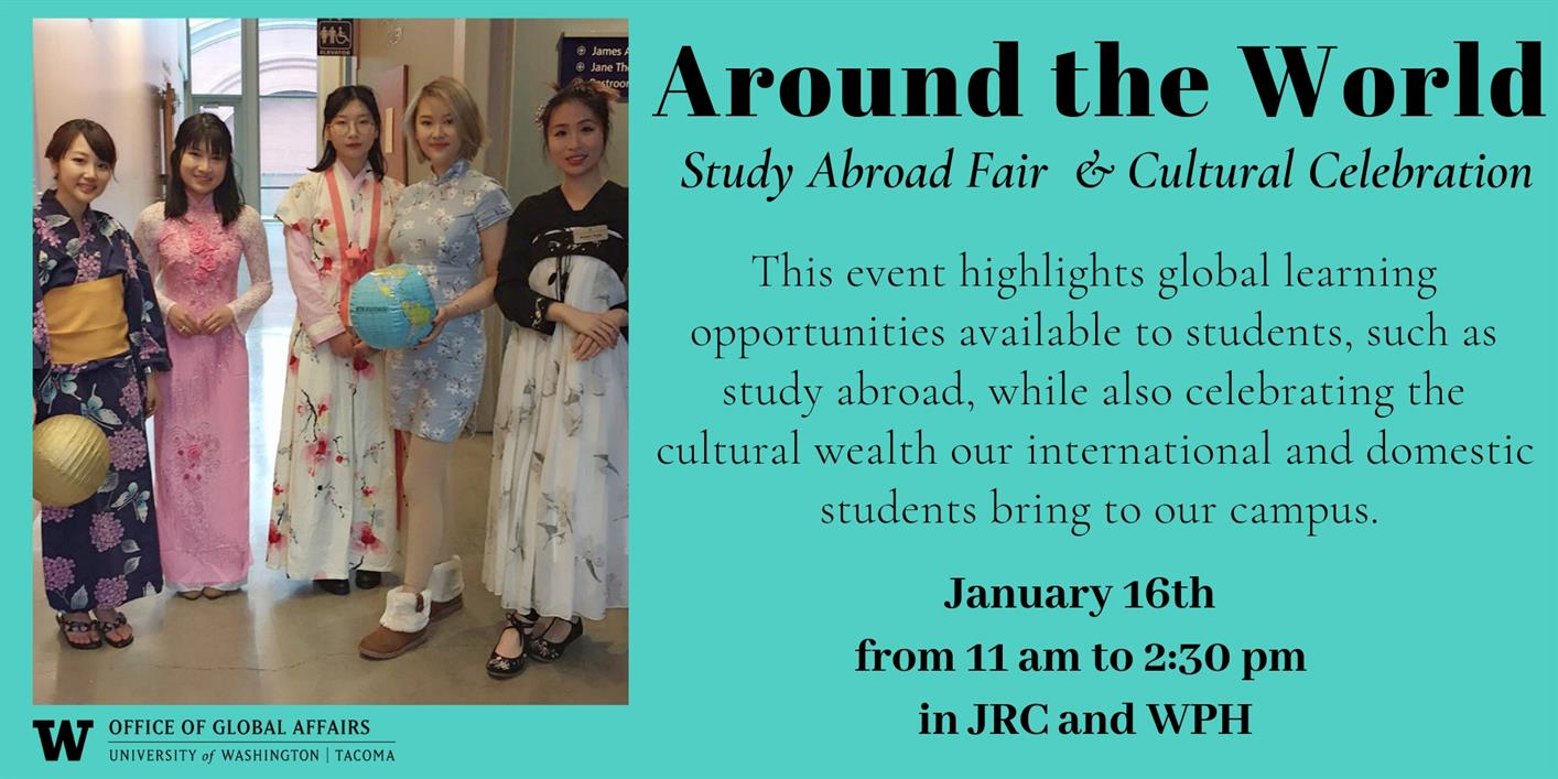 Around the World (Study Abroad Fair & Cultural Celebration)