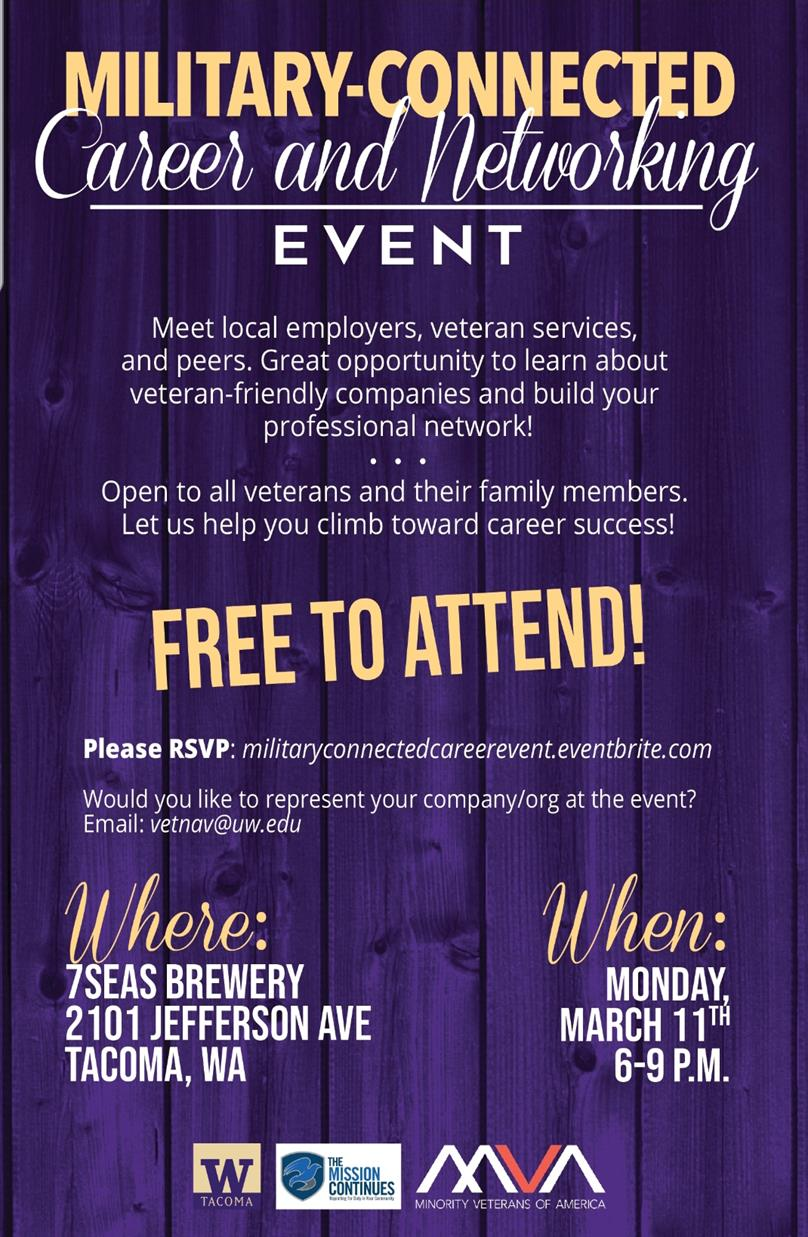 Military Connected Career and Networking Event
