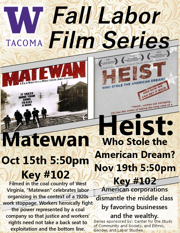 Fall Labor Film Series