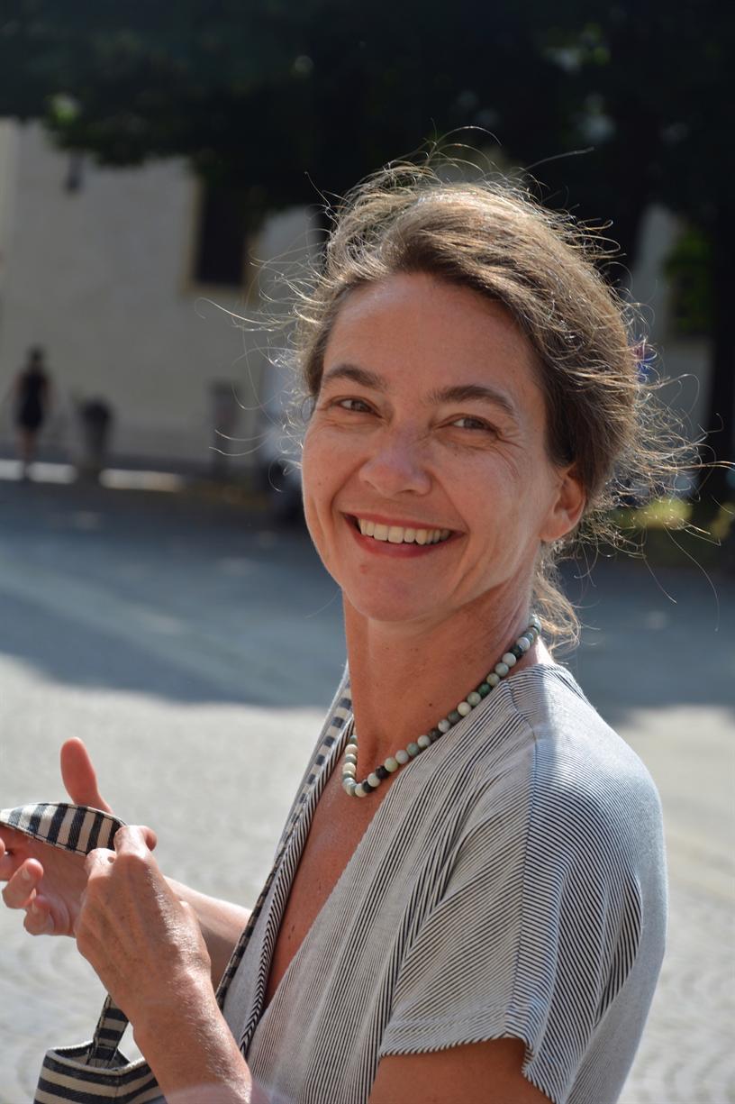 Slovene Novelist Katarina Marinčič