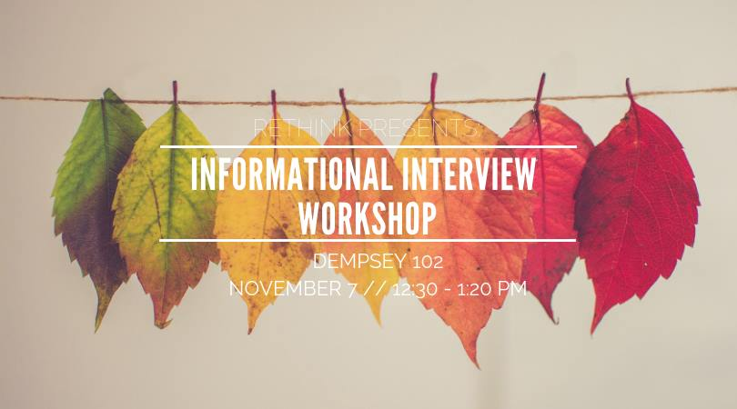 Informational Interview Workshop