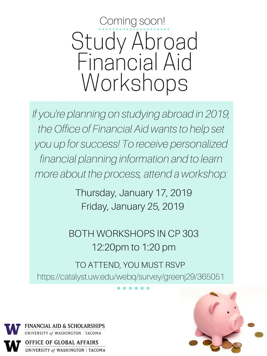 Study Abroad Financial Aid Workshop