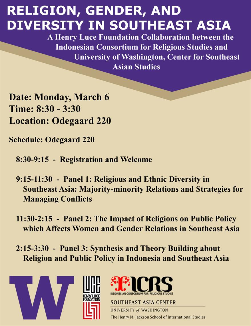 Religion, Gender, and Diversity in Southeast Asia