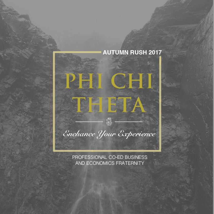 Phi Chi Theta Info Session 1