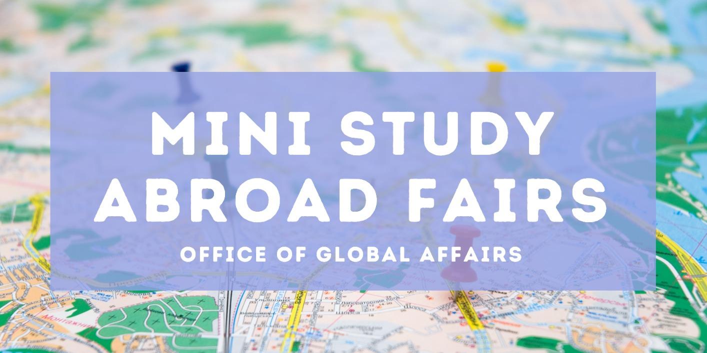 Mini Study Abroad Fair