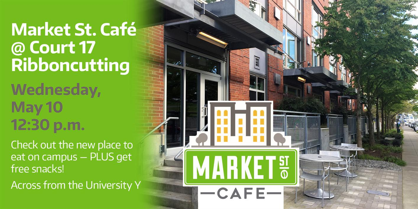Market Street Cafe Ribbon Cutting