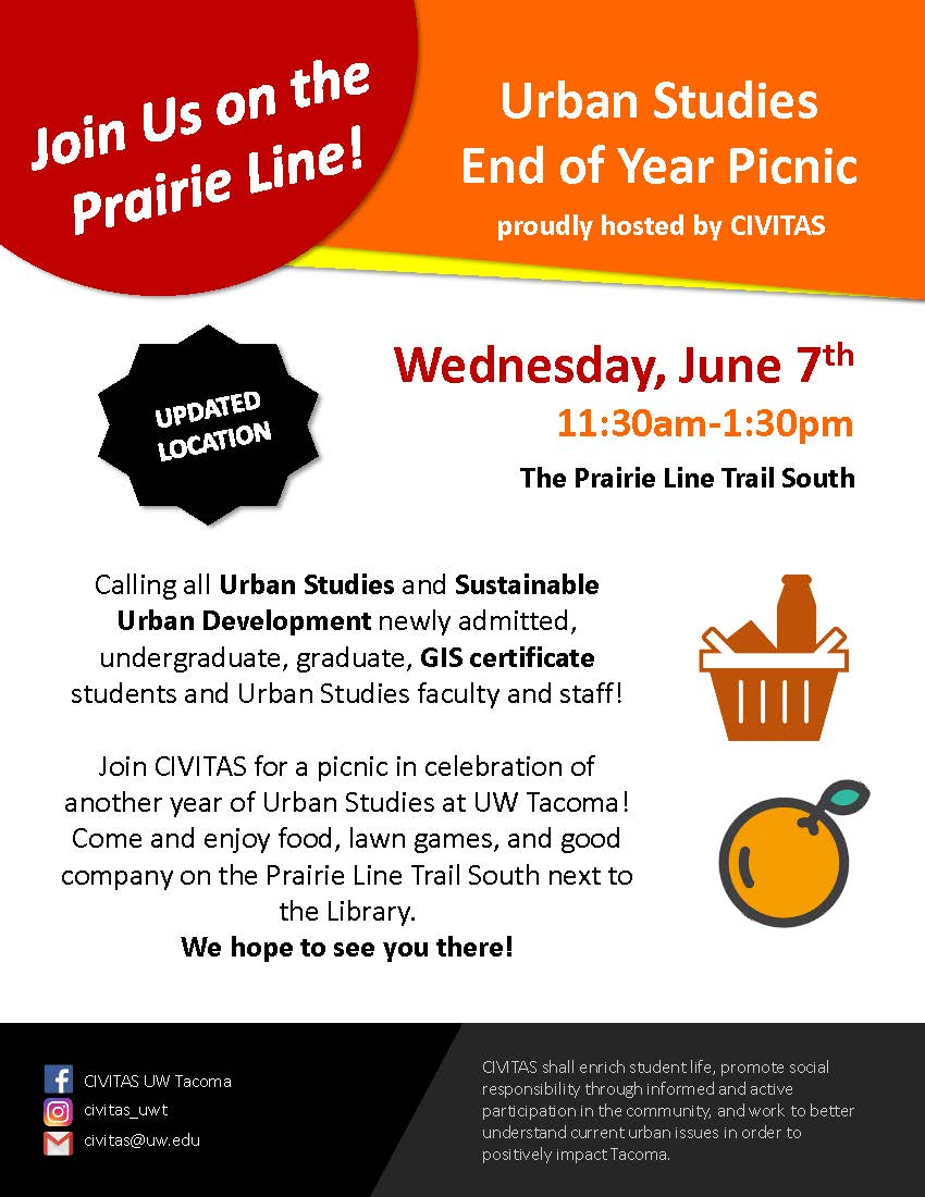 Urban Studies End of Year Picnic