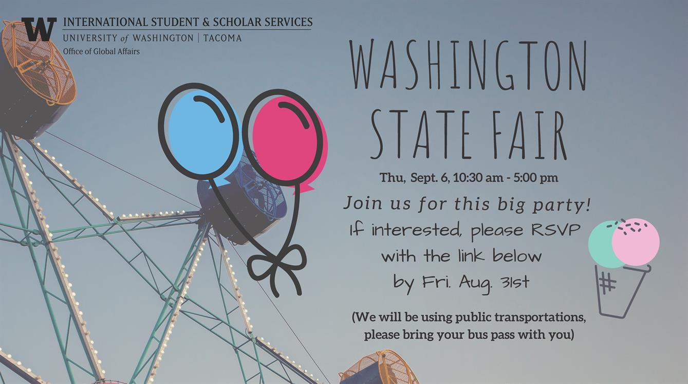 International Student Trip to Washington State Fair