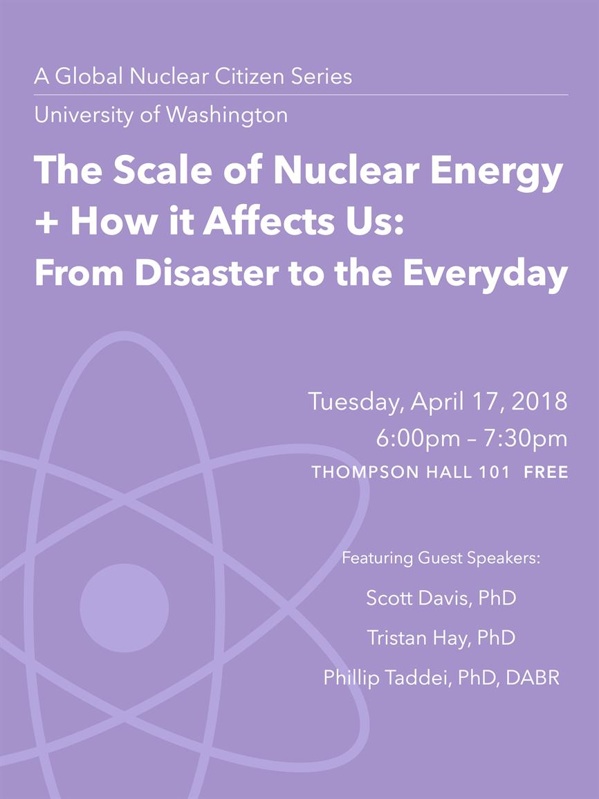 Global Nuclear Citizen Series: The Scale of nuclear Energy and How It Affects Us: From Disaster to the Everyday