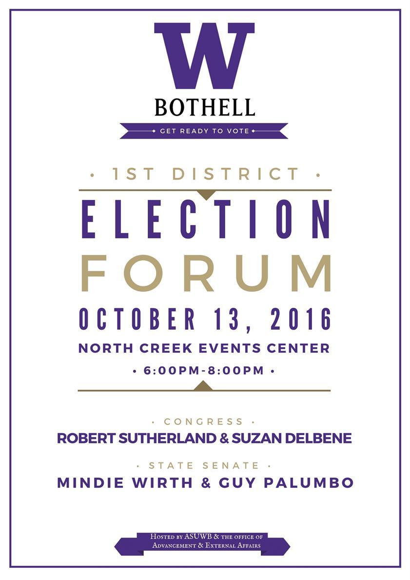 1st District Election Forum