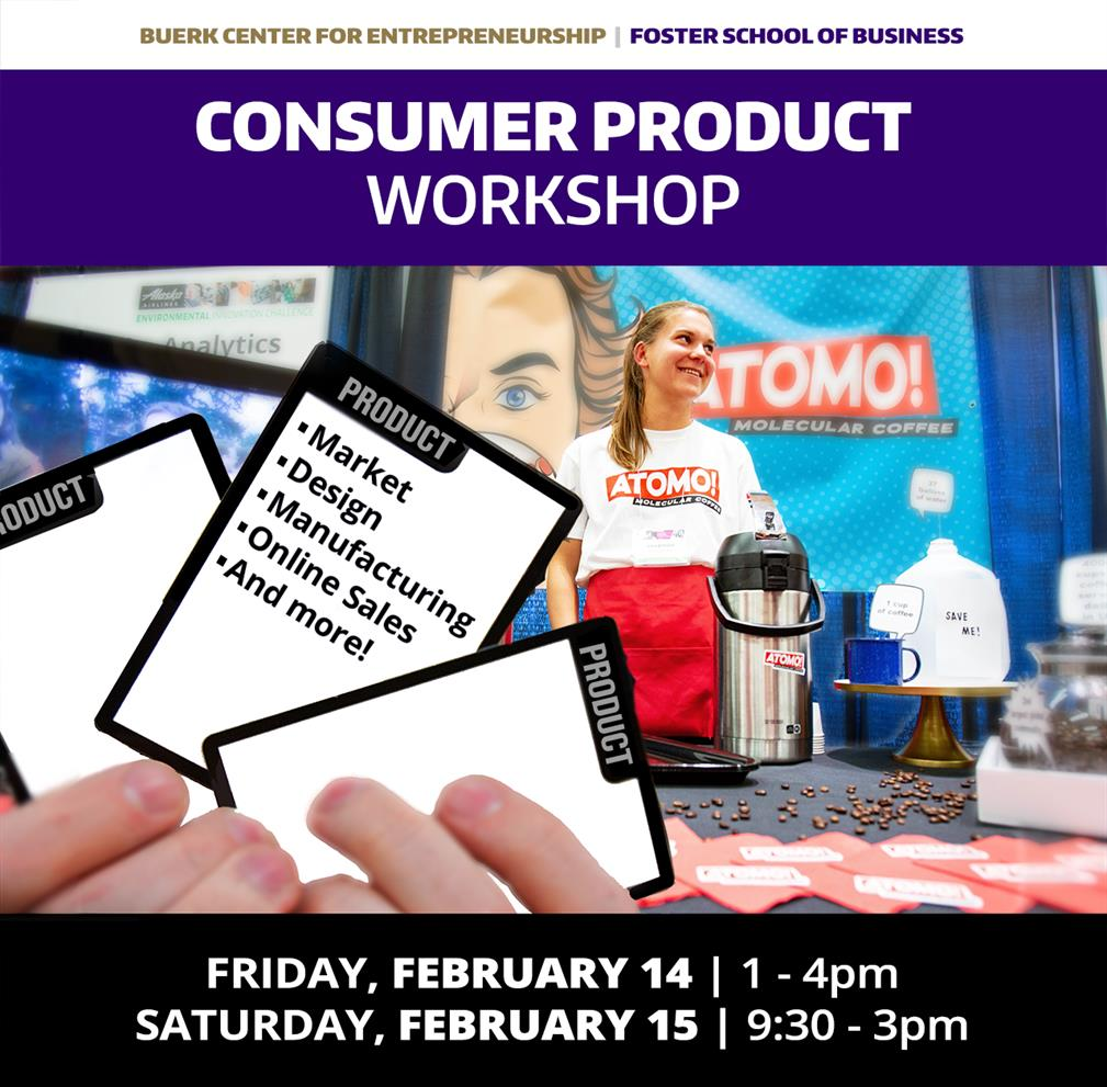 Consumer Product Workshop - Product Design, Manufacturing, Retail Strategy + more!