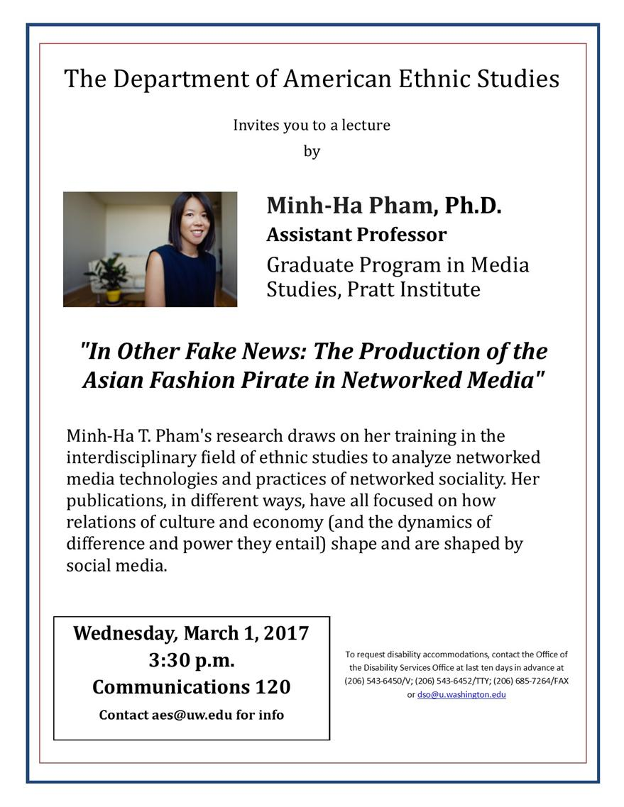 Job Talk: Minh-ha Pham