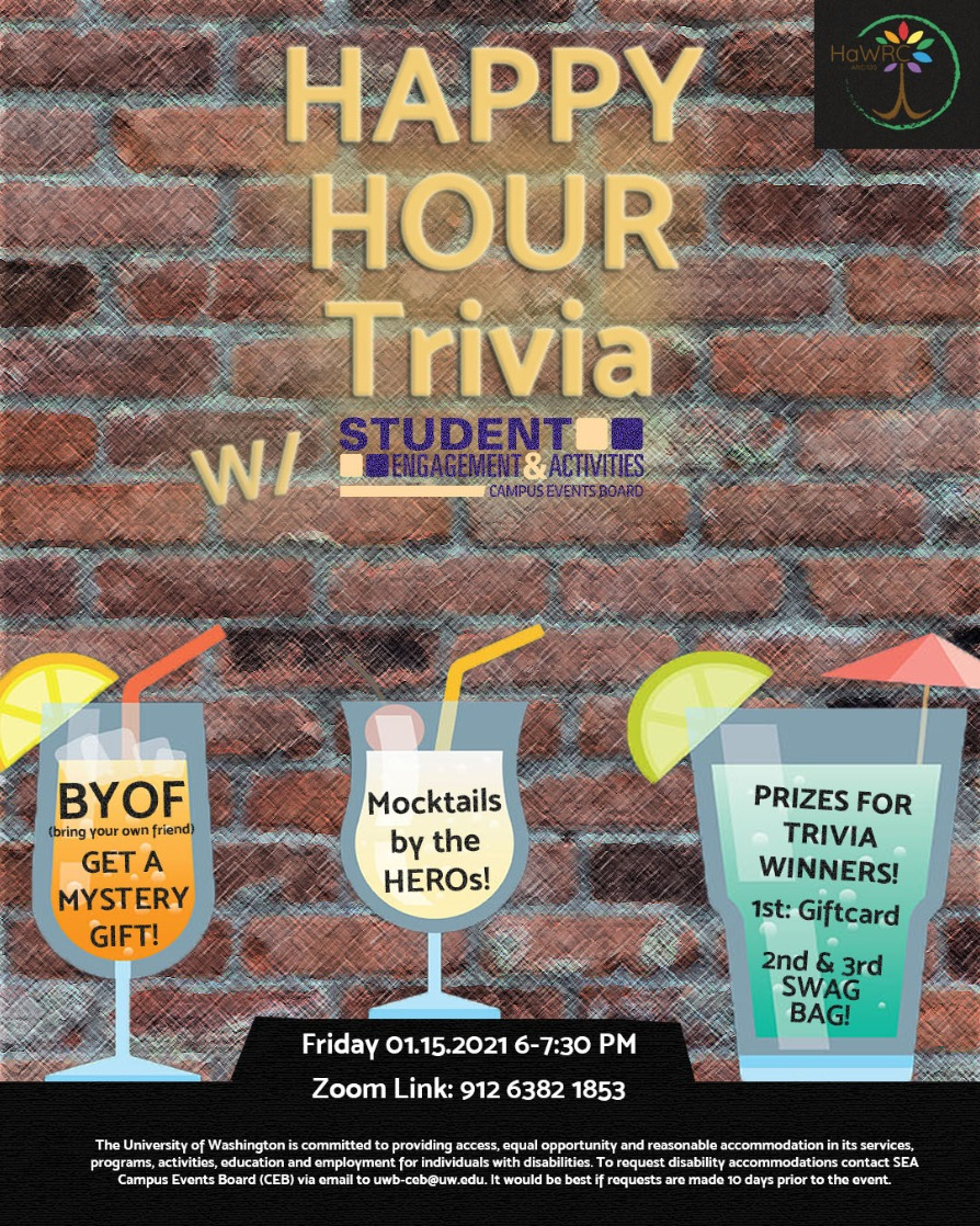 Happy Hour Trivia with CEB