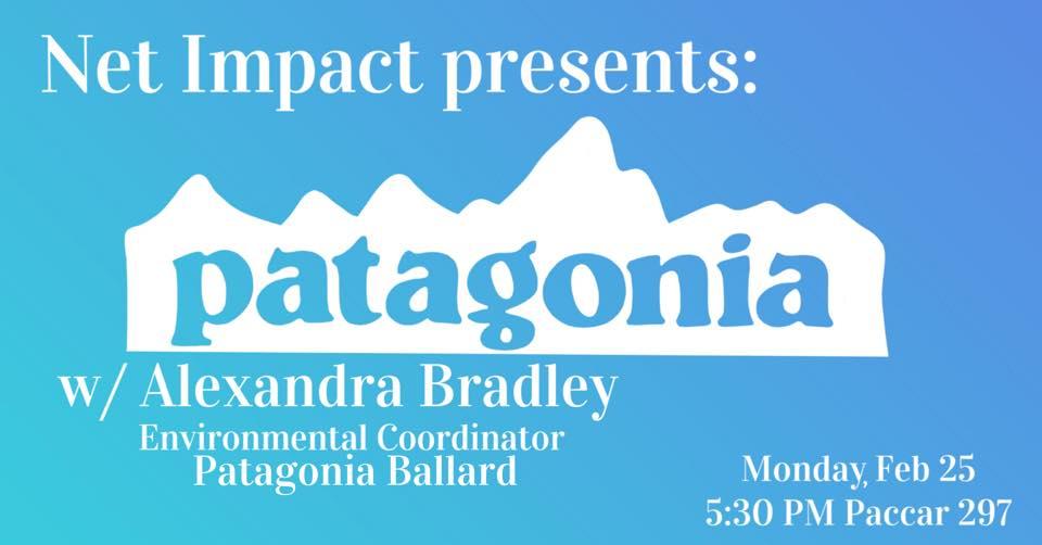 Net Impact Presents: Patagonia