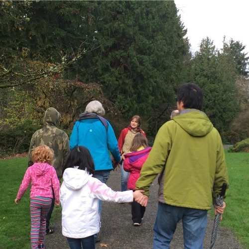 Free Family Weekend Walks: Using Our Senses