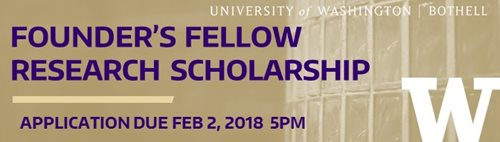 Founder's Fellow Research Scholarship Workshop