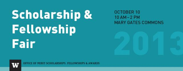 Scholarship and Fellowship Fair and Info Sessions