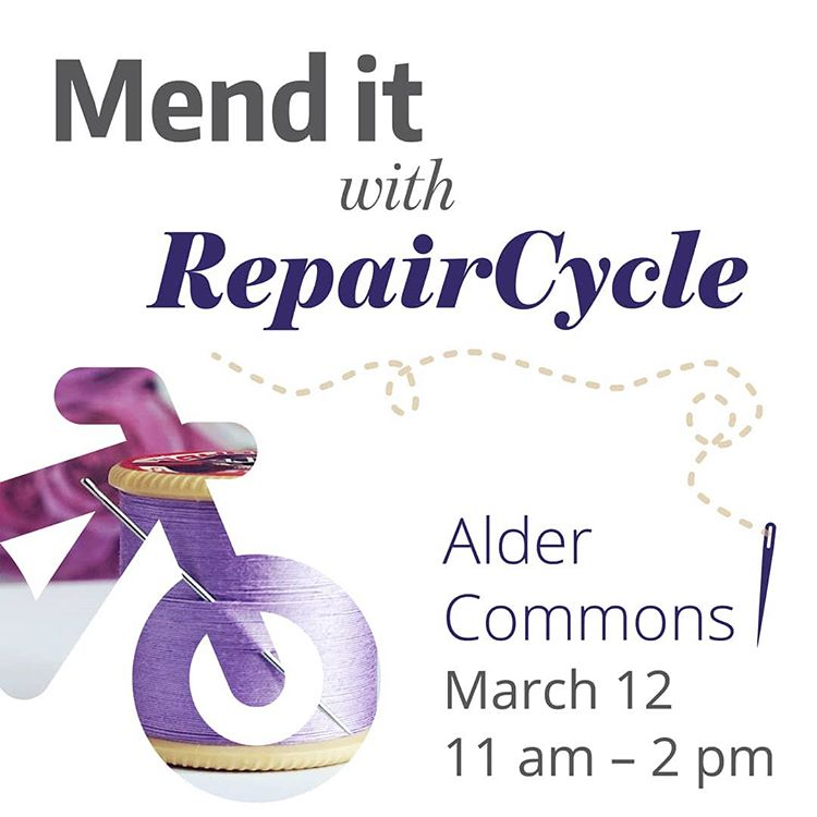CANCELED - Learn to mend your clothes with RepairCycle