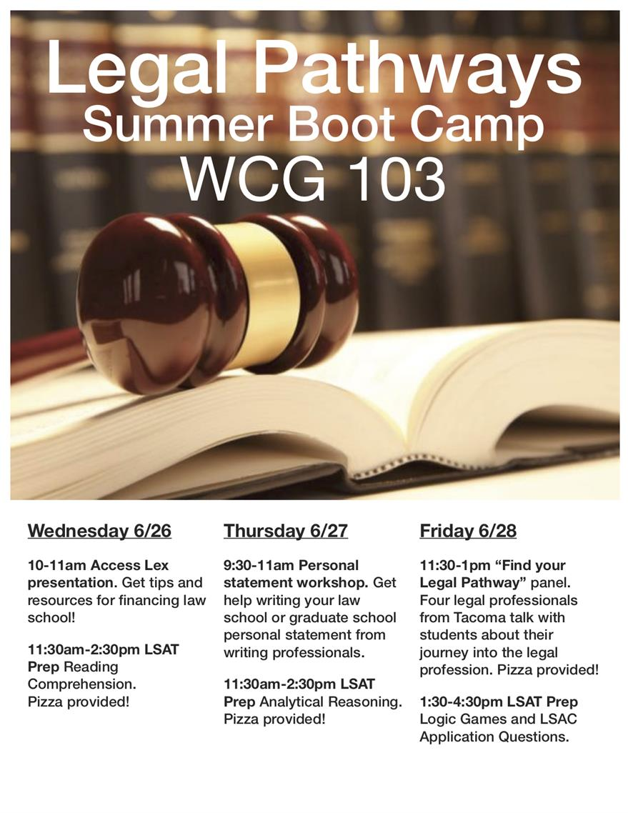 Legal Pathways Summer Boot Camp