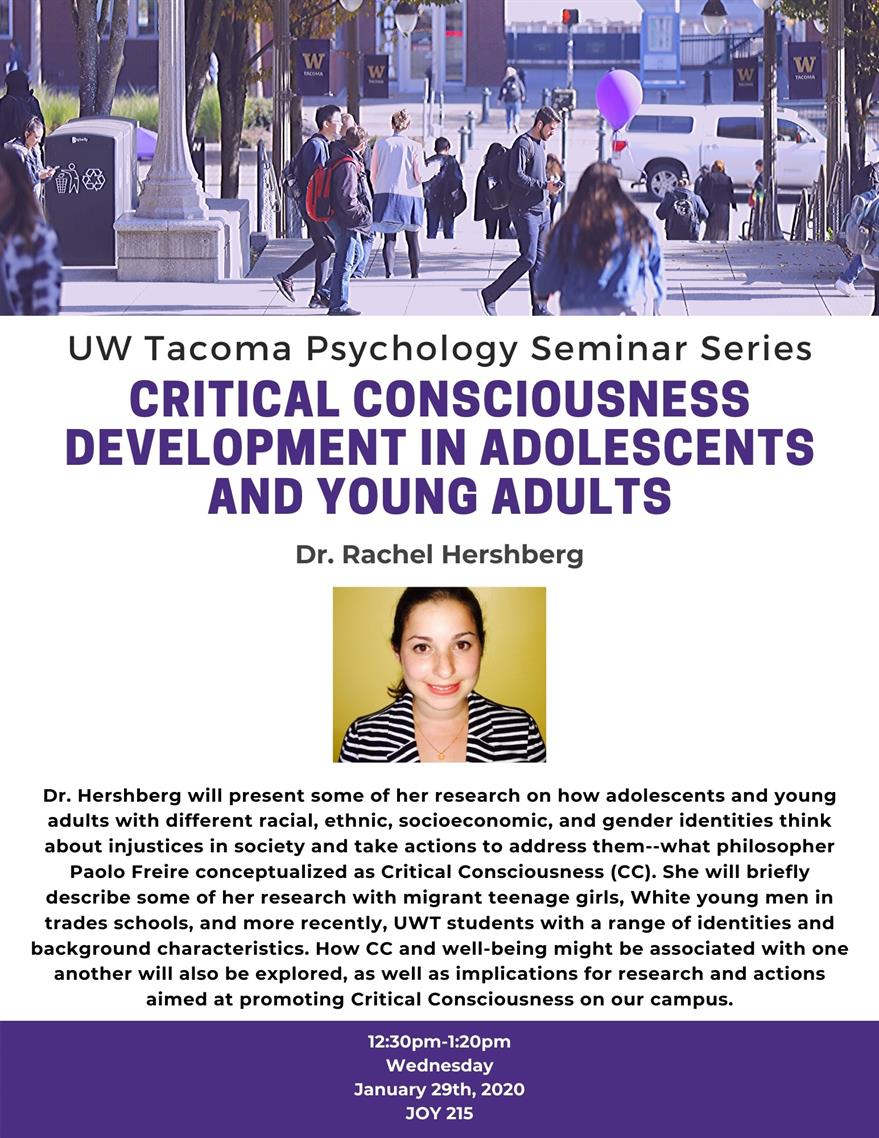 Critical Consciousness Development in Adolescents and Young Adults