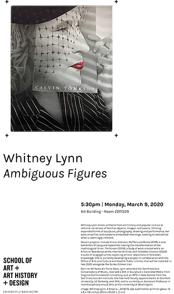 Artist Talk: Whitney Lynn - Ambiguous Figures