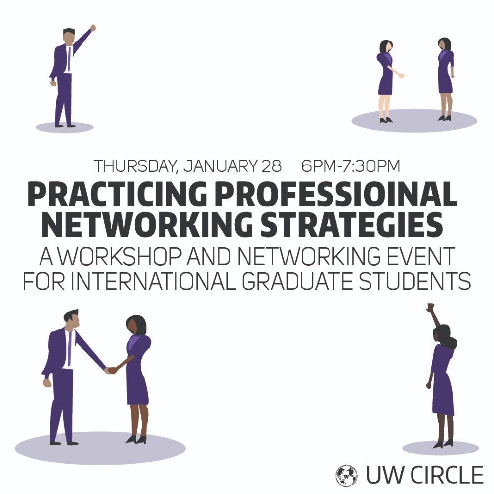 Practicing professional networking strategies: An International Graduate Student Workshop
