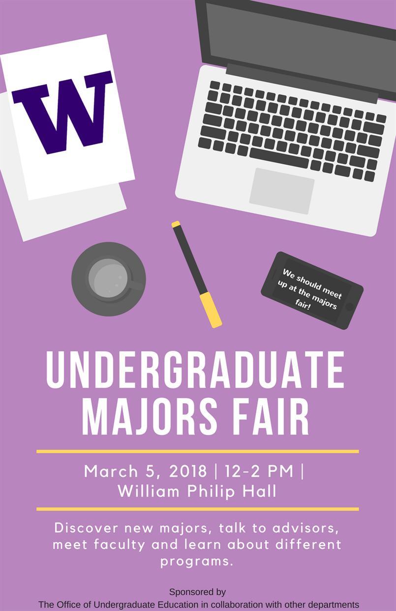 Undergraduate Majors Fair