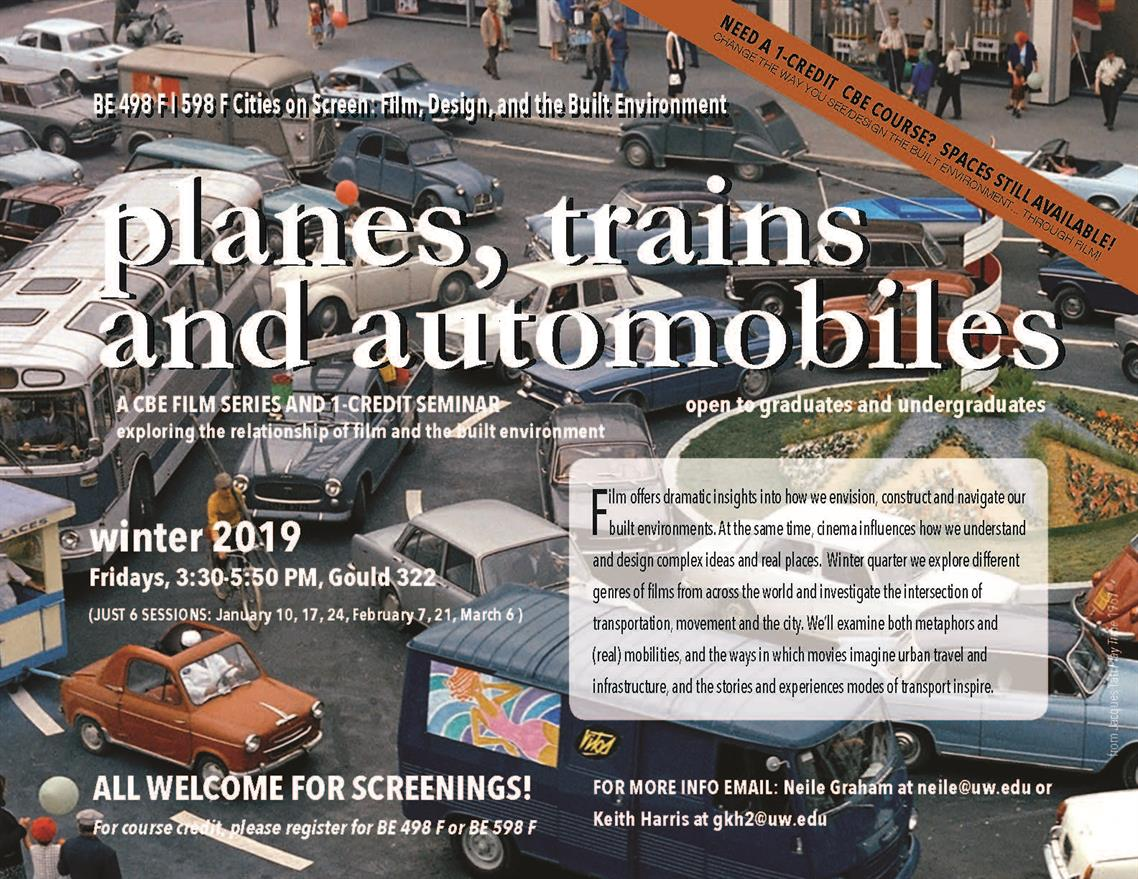 CBE Film Series: Planes, Trains, and Automobiles