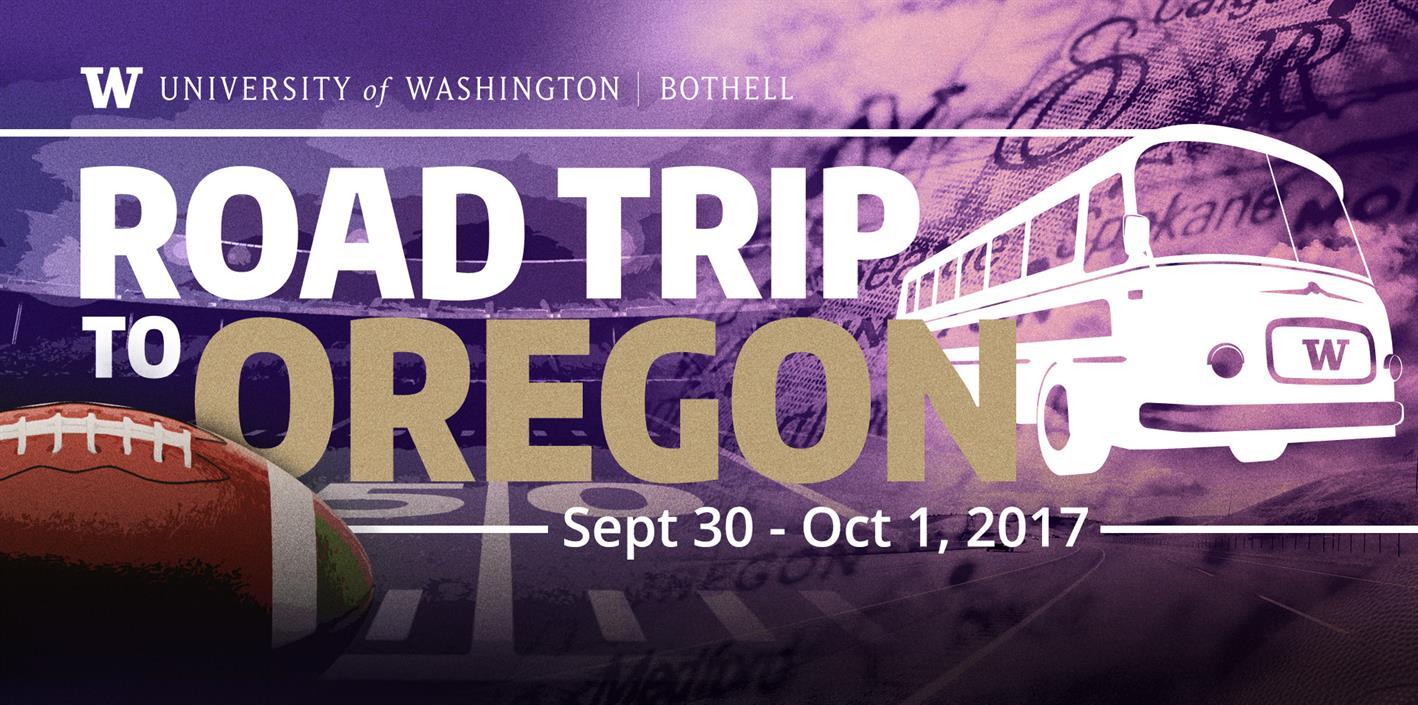 Road trip to Oregon! Huskies vs. Beavers @ Corvallis