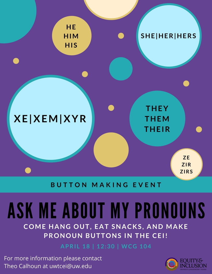 Ask Me About My Pronouns