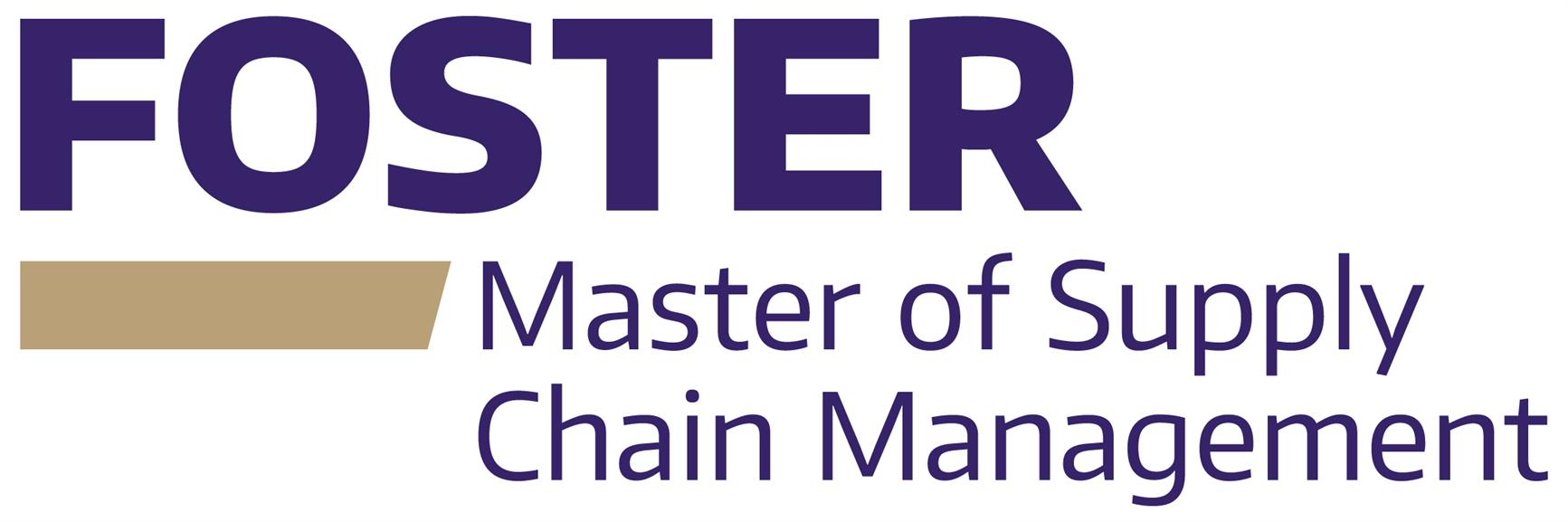 Information Session - Master of Supply Chain Management