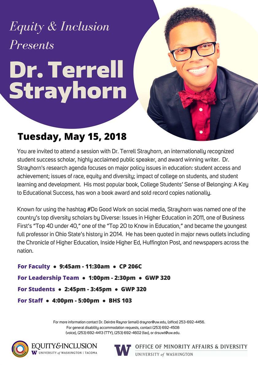 Dr. Terrell Strayhorn