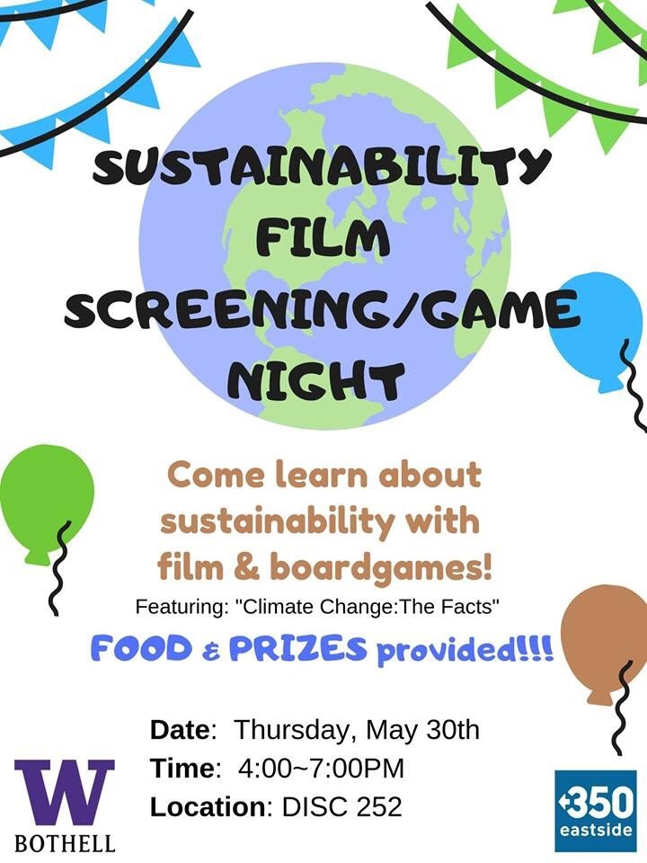 Sustainability Game & Film Night