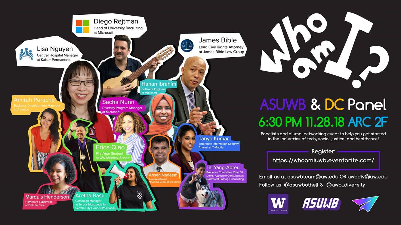 "ASUWB & DC Present: ""Who am I?"" Event"