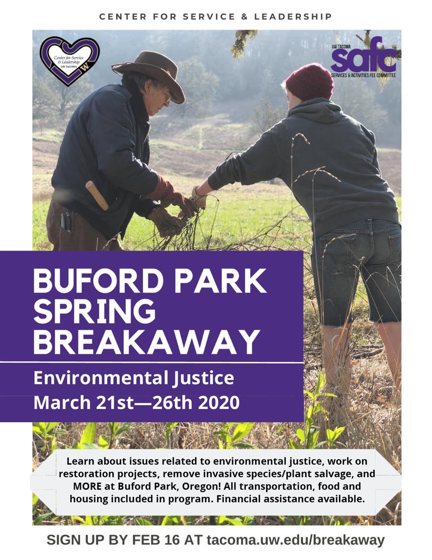 Buford Park Spring Breakaway