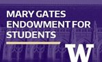 UW Mary Gates Research Scholarship - AUTUMN APPLICATION DEADLINE