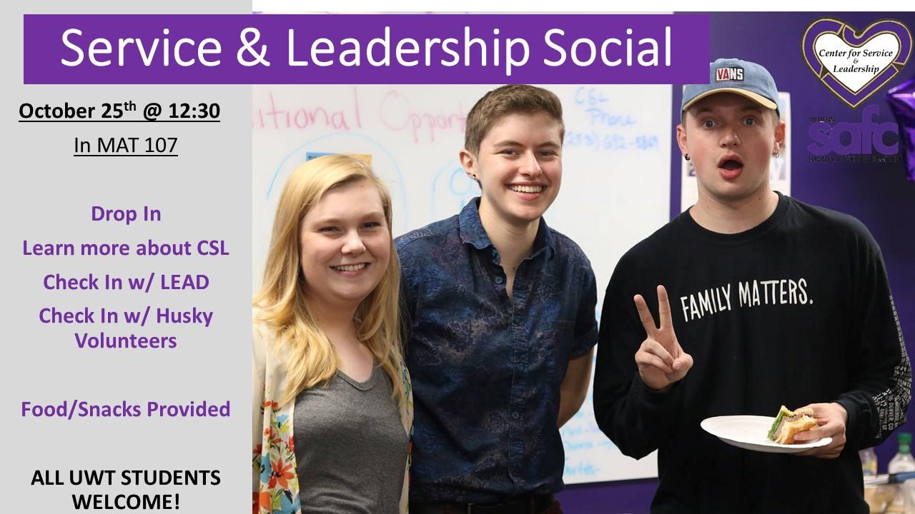 Service & Leadership Social