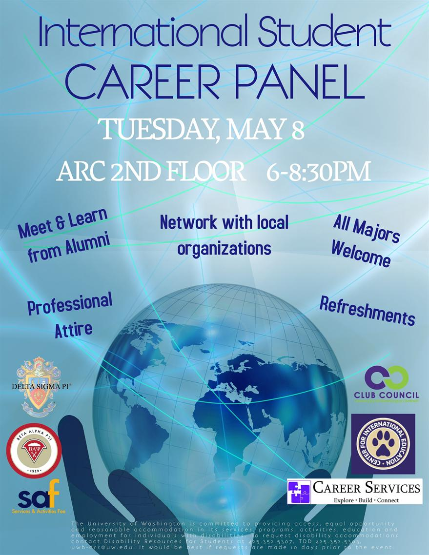 International Student Career Panel