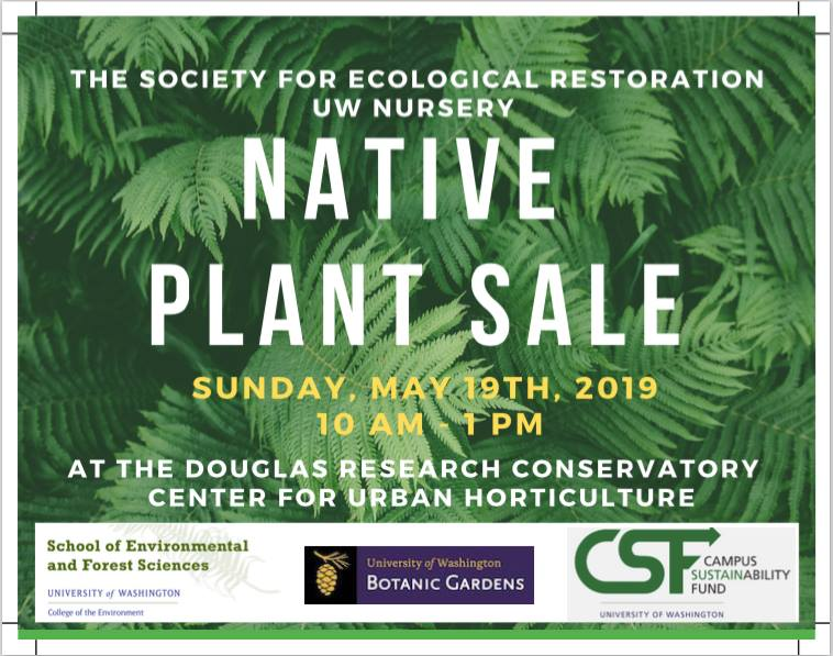 SER-UW Native Plant Sale