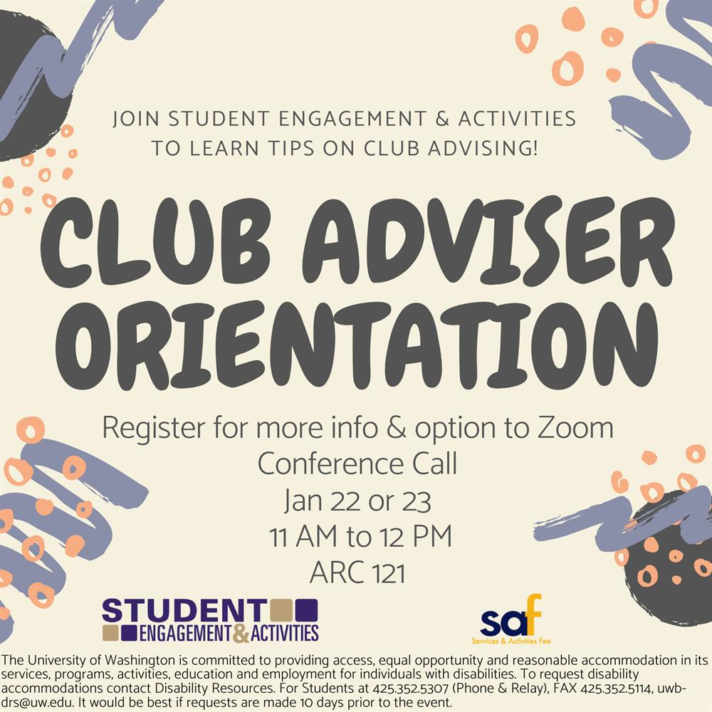 SEA's Club Adviser Orientation