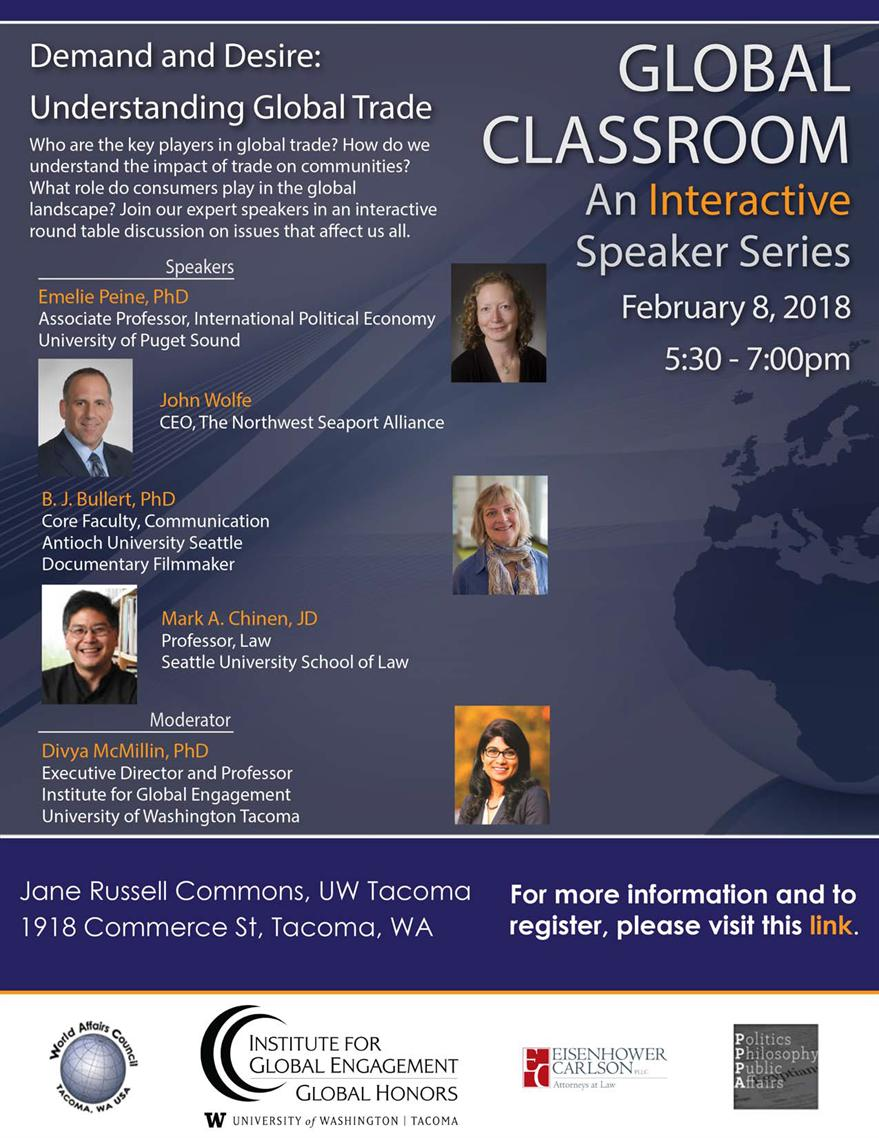 Win '18 Global Classroom - Demand and Desire: Understanding Global Trade